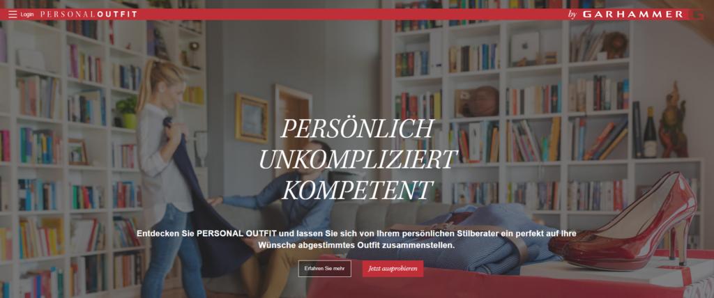 Personal Shopping Insider Garhammer Startseite