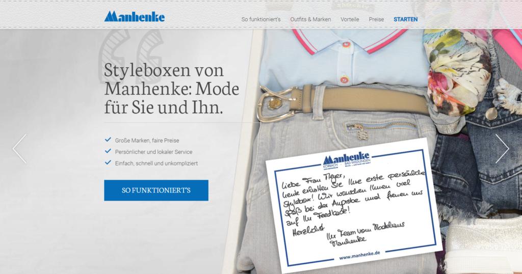 Personal Shopping Insider Manhenke Startseite