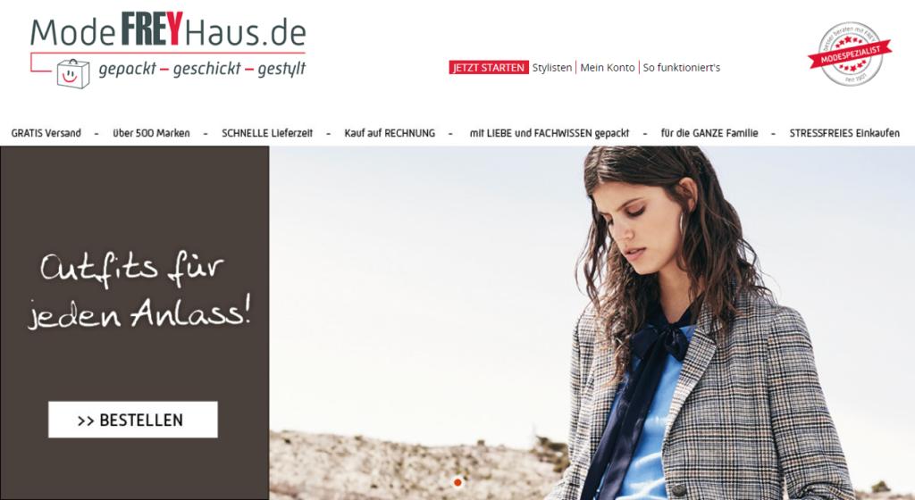 Personal Shopping Insider ModeFREYHaus Startseite