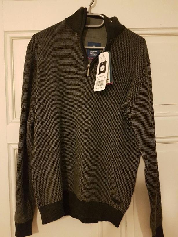 Struktur Pullover mit Stehkragen von Tom Tailor