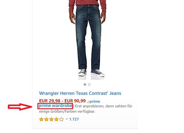 Amazon Prime Wardrobe Logo